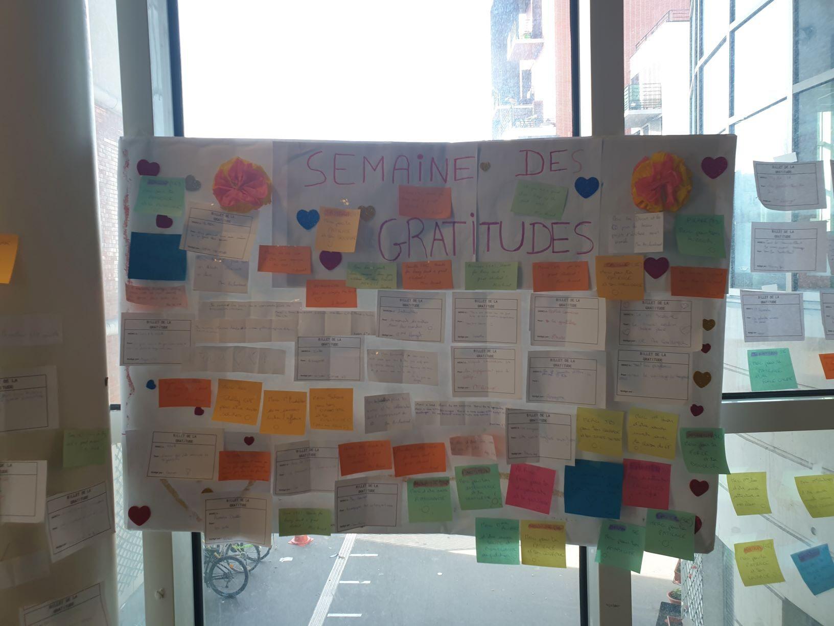 mur des gratitudes